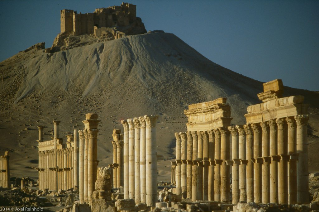 Palmyra und Qala'at ibn Maan